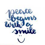 Challenge jour 29 letteritnovember de jennyhighsmith graindevoiescript fmsphotoaday watercolor brushletteringhellip