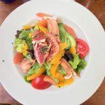 Salade de la mer aux agrumes djeuner  Ajaccio entrehellip